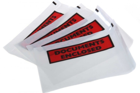 Courier envelopes for documents