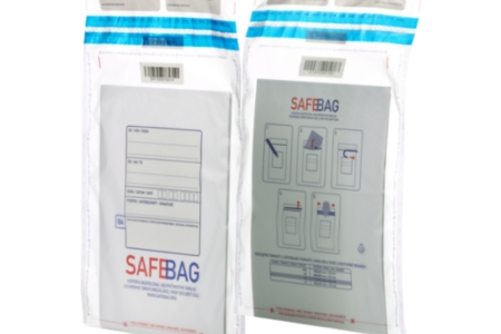 SAFEBAG Clear safe envelopes